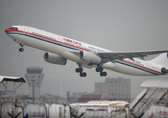 中國東方航空公司開通聖彼得堡至西安的定期航班
