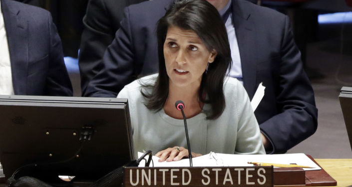 美國常駐聯合國代表妮基·黑莉