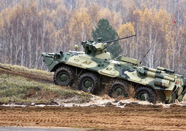 BTR-82A装甲运兵车