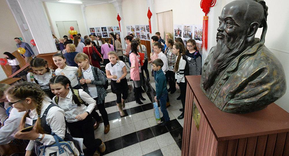 調查:孔子是俄學生最熟悉的中國思想家