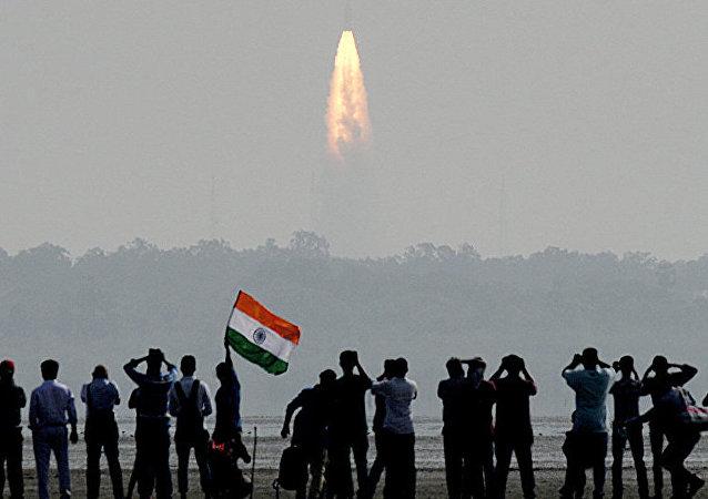電視台:印度成功將第100顆衛星送入近地軌道