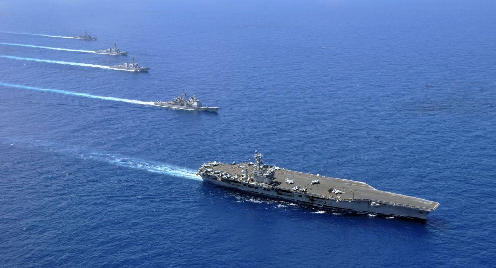 中國指責美國侵入自己的南海水域