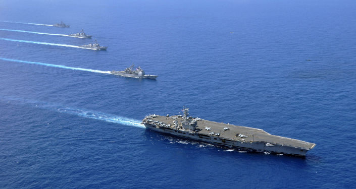 中国指责美国侵入自己的南海水域
