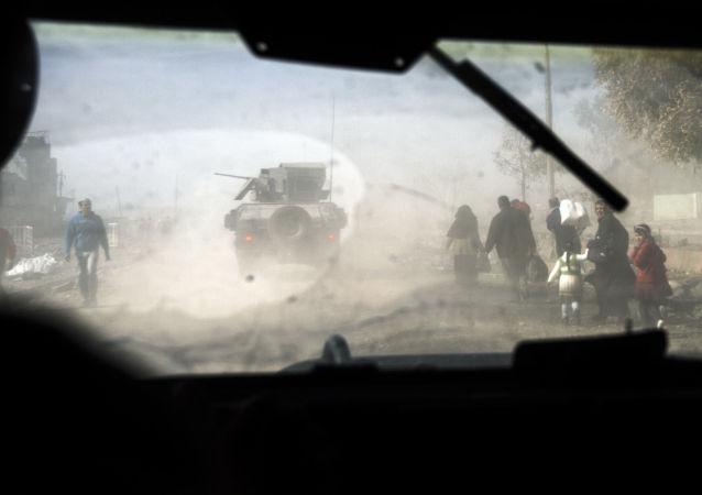 法新社:伊拉克政府軍部隊奪取摩蘇爾以南兩座村莊