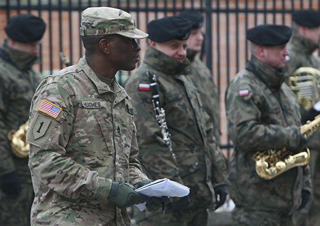 媒體:美國今春將向波蘭派遣近千名士兵