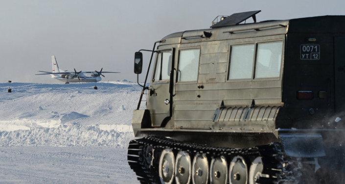 俄羅斯軍隊開始在北極試驗新型設備