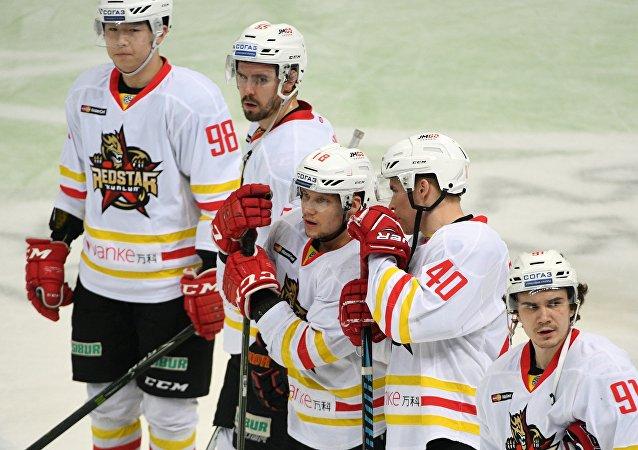 中國的「崑崙」冰球隊