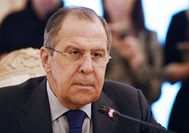 俄羅斯外長 拉夫羅夫