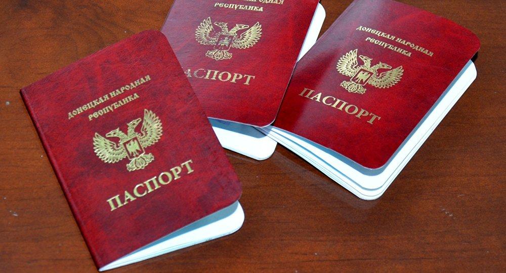 顿巴斯两共和国护照