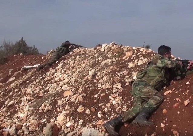 敘軍堅守拉塔基亞山區防線