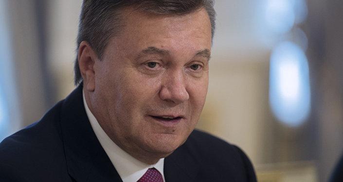 乌克兰前总统维克多·亚努克维奇