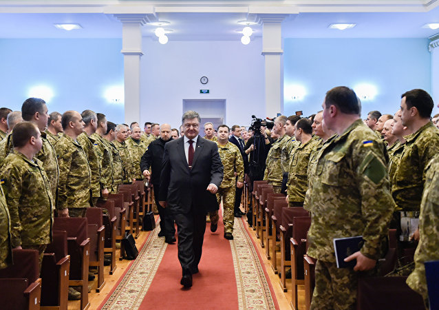 波罗申科称若获连任将实施修订版导弹计划