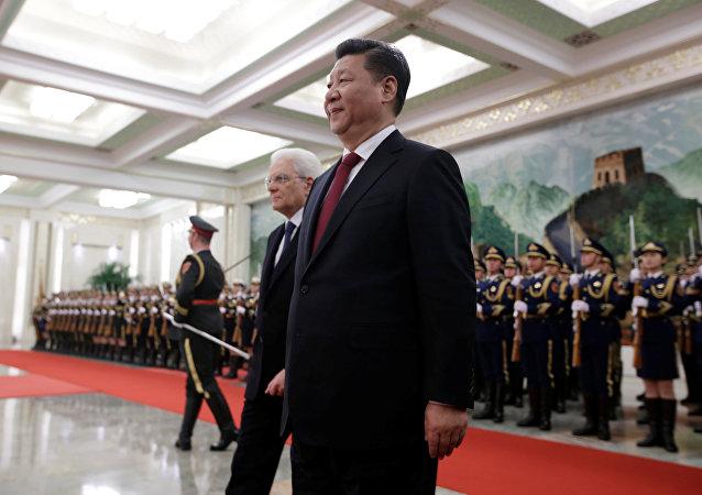 """中方欢迎意大利积极参与共建""""一带一路"""""""