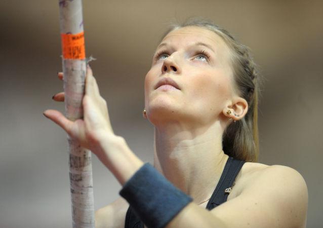 俄羅斯運動員安熱莉卡∙西多羅娃
