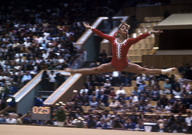 著名体操运动员奥尔加·科尔布特