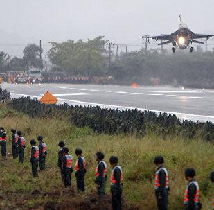 美國F-16 在台灣