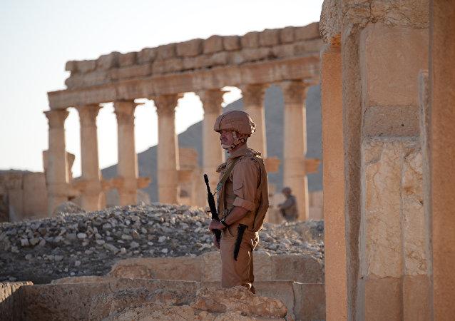 叙利亚巴尔米拉目前仍没有得到教科文组织的重建援助
