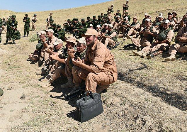 俄军将于5月末参加在塔吉克斯坦举行的国际反恐演习