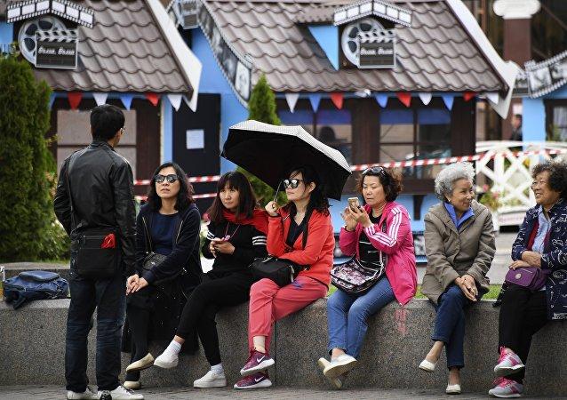 今年年初以来已有超过4000名中国游客通过新西伯利亚机场进入俄罗斯