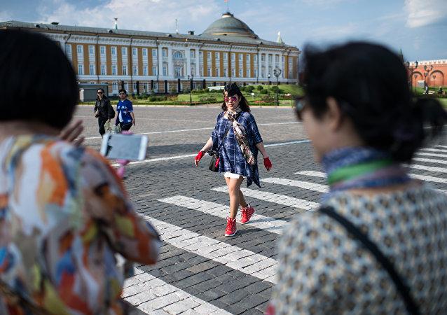2017年前9個月中國赴莫斯科遊客數量增長三成