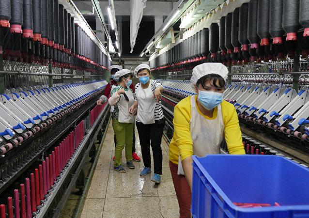 媒体:中国制造业平均工资超过俄罗斯
