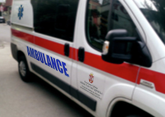 據媒體報道,塞爾維亞一家軍工廠的彈藥爆炸起火,20人受傷