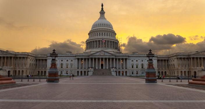 Здание Капитолия в Вашингтоне, США
