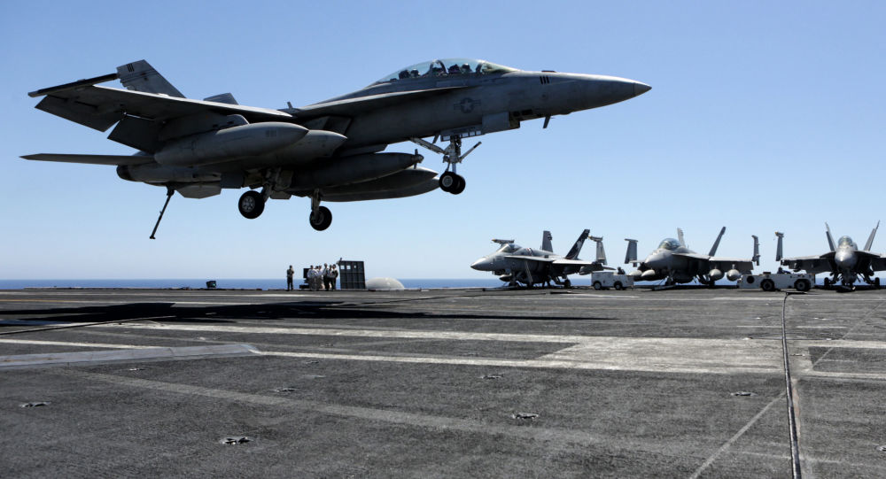 美国加强地中海军事力量