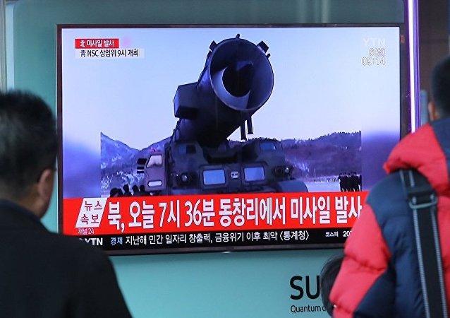 韩情报部门:朝鲜通过导弹试验敦促美国与其建立新型关系