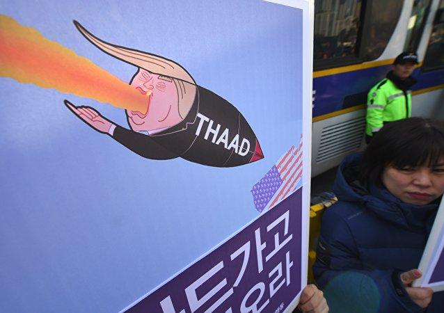 朝鲜驻俄大使:美国在韩国部署萨德系统使地区局势一触即发