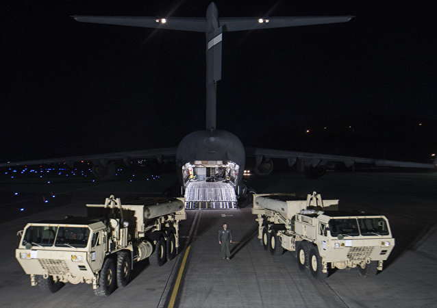 韓媒:美國開始在韓部署「薩德」反導系統 (視頻)