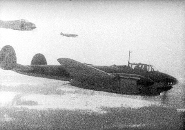 蘇聯轟炸飛機