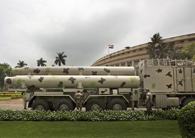 俄专家:印度反导试验标志印巴核竞赛仍在继续