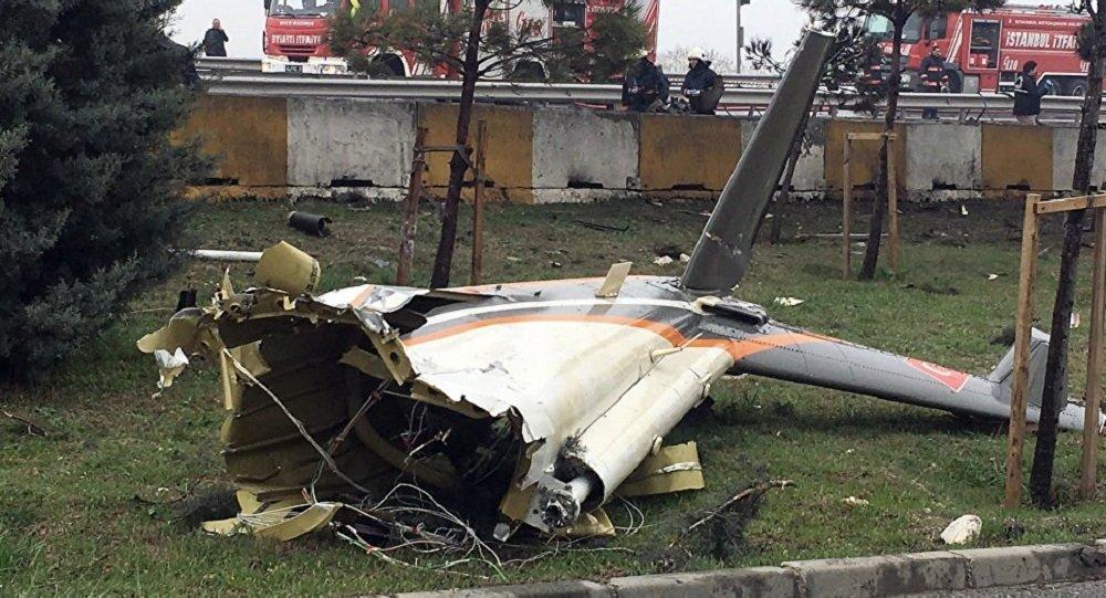 土耳其郊外坠机事件的死亡人数上升到7人