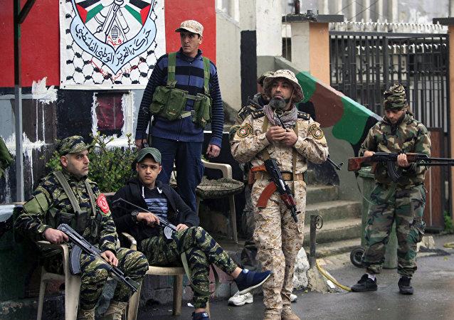 消息人士:貝魯特郊外黎巴嫩人和巴勒斯坦人的毆鬥升級為武裝衝突