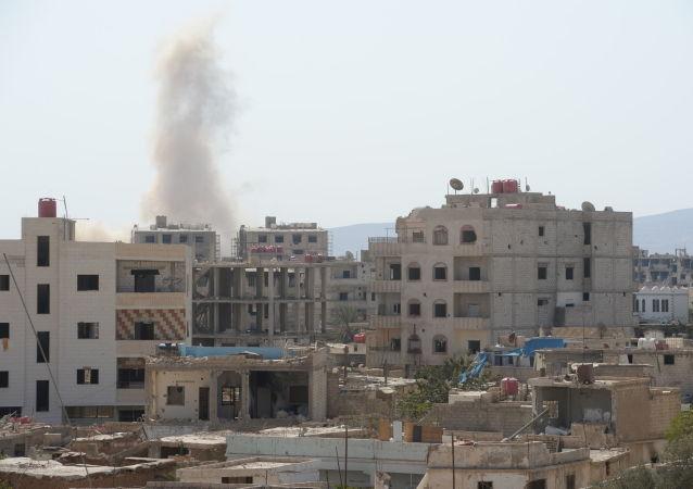 敘軍方消息人士稱大馬士革近郊爆炸由短路引起