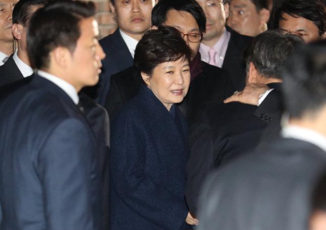 媒體:韓國法院或於3月30日簽發樸槿惠逮捕令