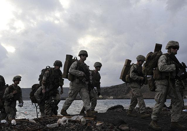 在吉布提的美國軍事存在