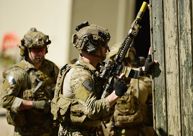 American special forces soldiers