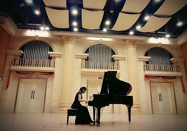 第二屆俄羅斯格拉祖諾夫國際音樂大賽的中方參賽者將演奏中國傳統樂器