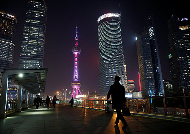 上海浦东金融区
