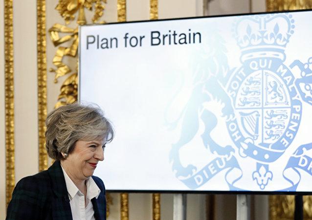 英國首相認為其脫歐協議可以作為英國退出歐盟協議的基礎