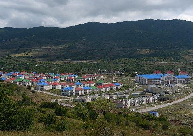 南奥塞梯首都茨欣瓦利