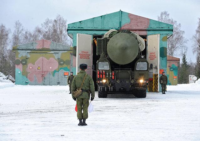 俄戰略導彈部隊(資料圖片)