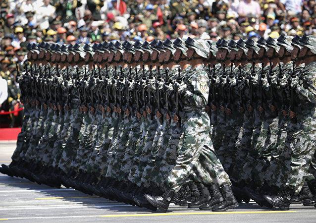 中国解放军代表:由于俄罗斯创建国际军事比赛军事水平显著提高