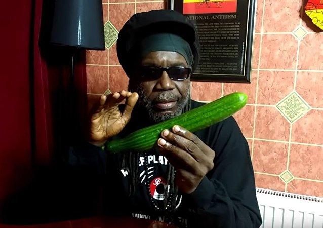 黄瓜受捧:牙买加歌手发布一段介绍黄瓜营养的视频