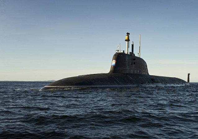 """俄罗斯""""白蜡树""""核潜艇"""