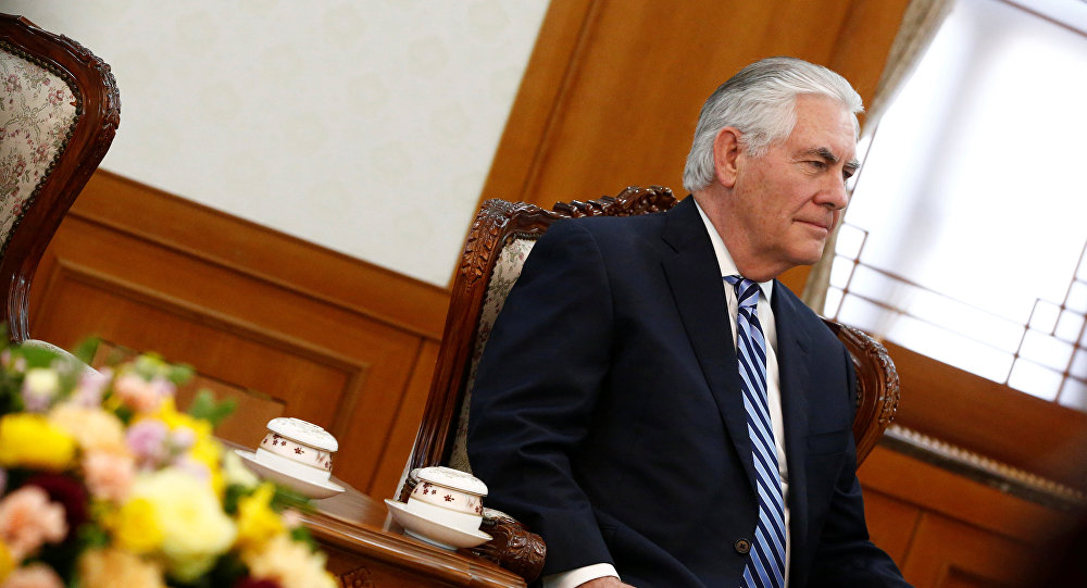 美国国务卿:美国不打算在中美领导人会晤前与华商讨重要问题