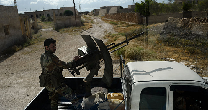 媒体:叙防空部队在叙西南击落一架以色列无人机