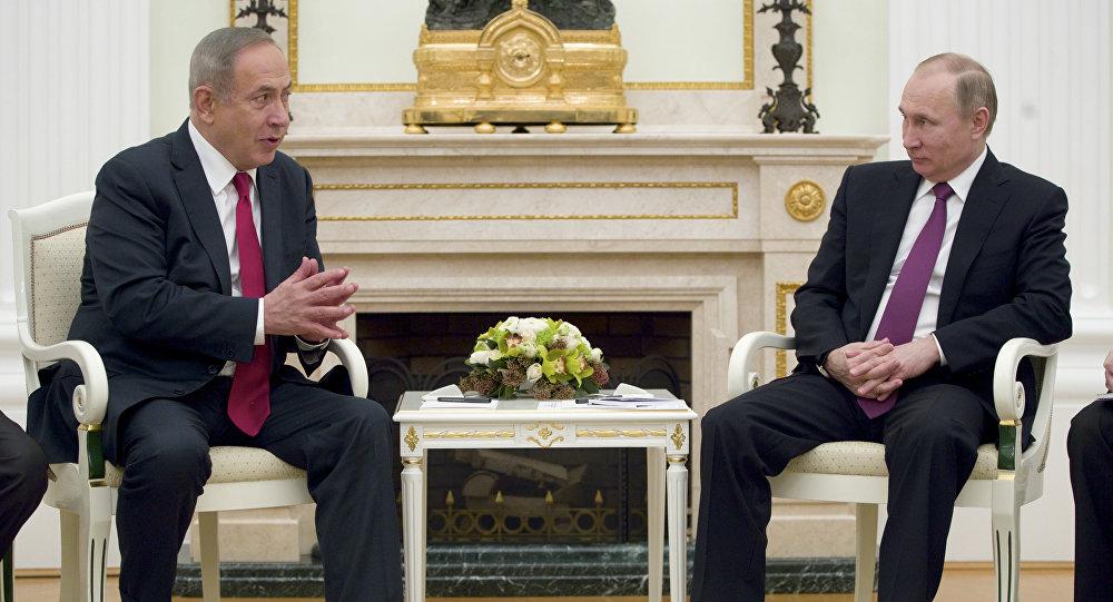 克宮:普京與內塔尼亞就有關以空軍導彈攻擊敘利亞的情況進行討論